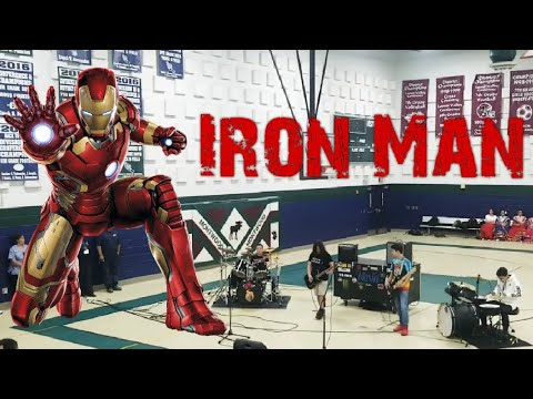 *IRON MAN* Performed At The Montwood Middle School Talent Show