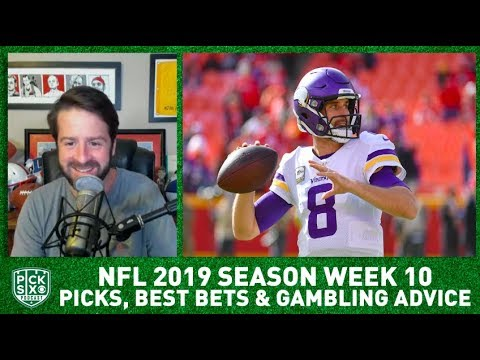 Week 10 Picks Against the Spread, Best Bets, Gambling Advice   Pick Six Podcast