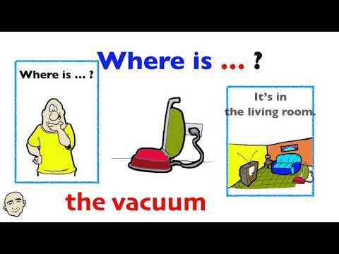 Where Is ... ? - House and Home Vocabulary   Set 2   Vocabulary-Based Conversations   ESL   EFL