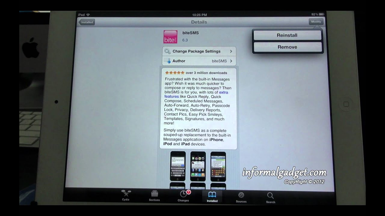 Delete cydia apps tweaks on jailbroken ipads 1 2 and 3 youtube delete cydia apps tweaks on jailbroken ipads 1 2 and 3 ccuart Choice Image