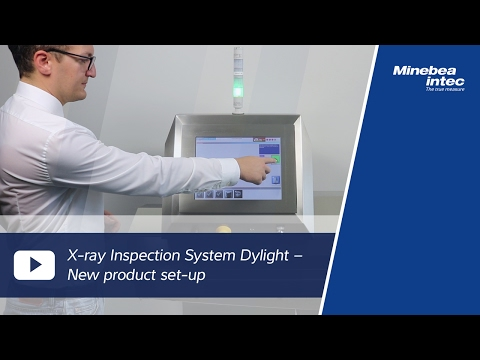 (EN) X-ray Inspection System Dylight – New product set-up