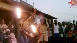 Dangerous (magic) show in africa - part 1