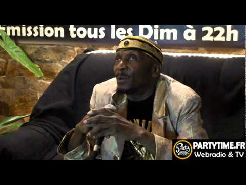 JIMMY CLIFF - Interview at Summer Reggae Fest 2011 PARTYTIME