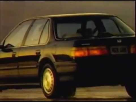 1990 Honda Accord Commercial Youtube