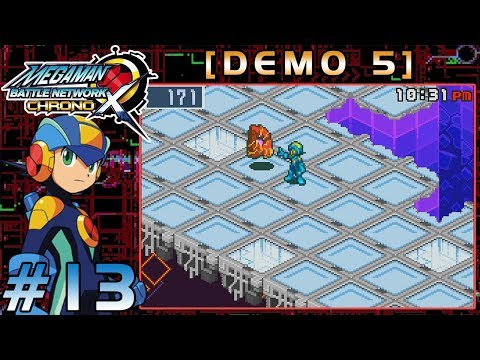 Mega Man Battle Network Chrono X [Demo 5] - Part 13: X Vs. Z