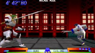 Battle Arena Toshinden 3 Gameplay PS1