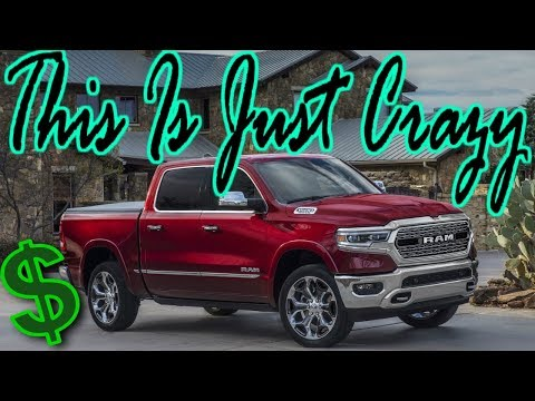Buying A 2019 Ram 1500 And The Price is Unbeliveable...