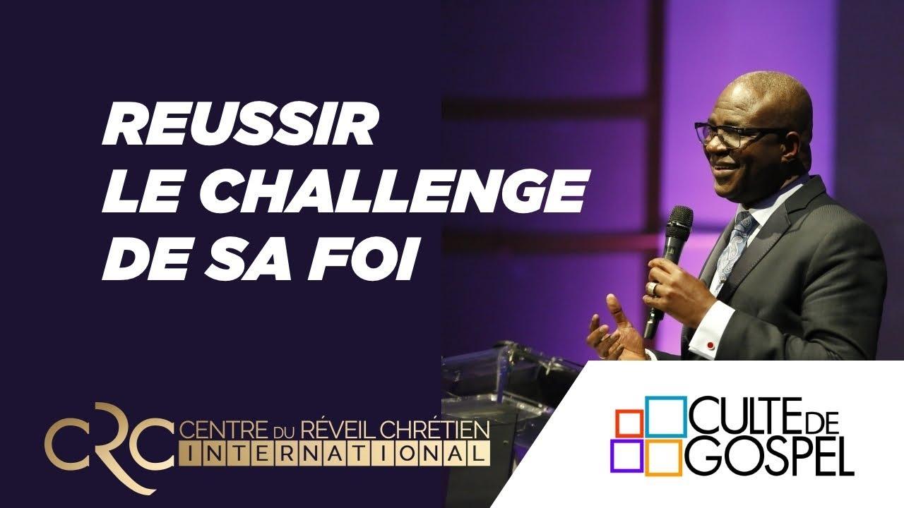 """""""Réussir le challenge de sa foi"""" un message du Pst David Goma"""