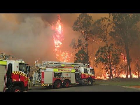 Holsworthy Bush Fire Emergency