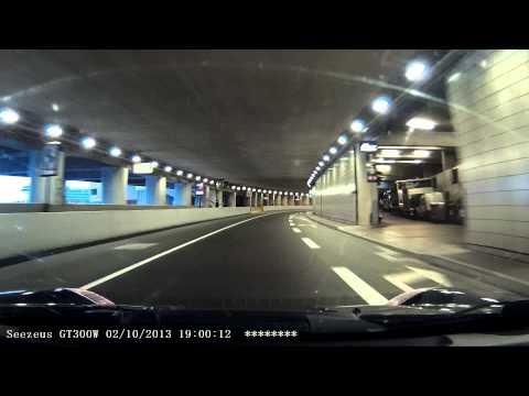 Monte Carlo F1 tunnel drive-through