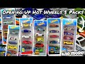 OPENING UP Hot Wheels 5 Packs!