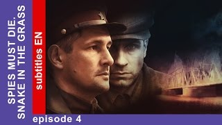 Spies Must Die. Snake in the Grass. Episode 4. Military Detective Story. StarMedia.English Subtitles