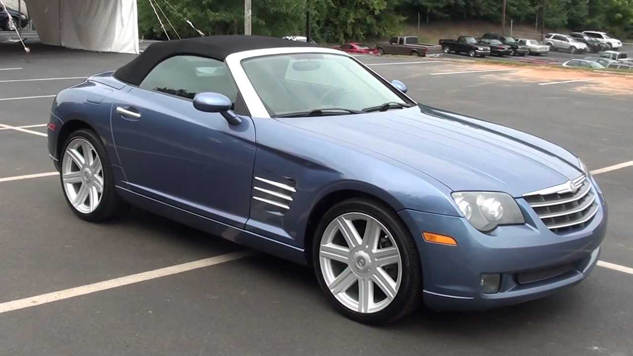 For 2005 Chrysler Crossfire Limited Convertible Stk 11819a Www Lcford You