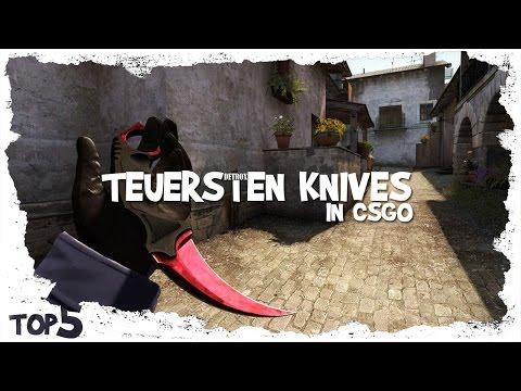 CS:GO - Top 5 Teuersten Knives (CS GO Skins) Episode 2