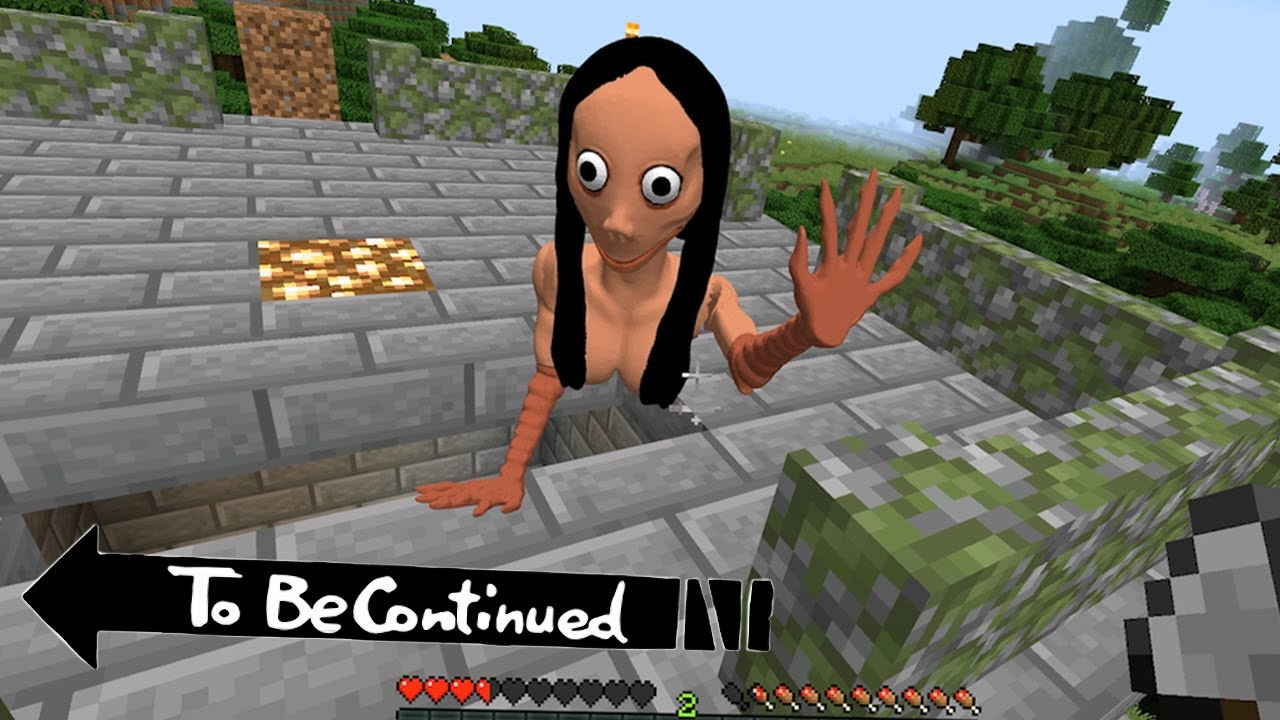 Download This is Real MOMO in Minecraft To Be Continued
