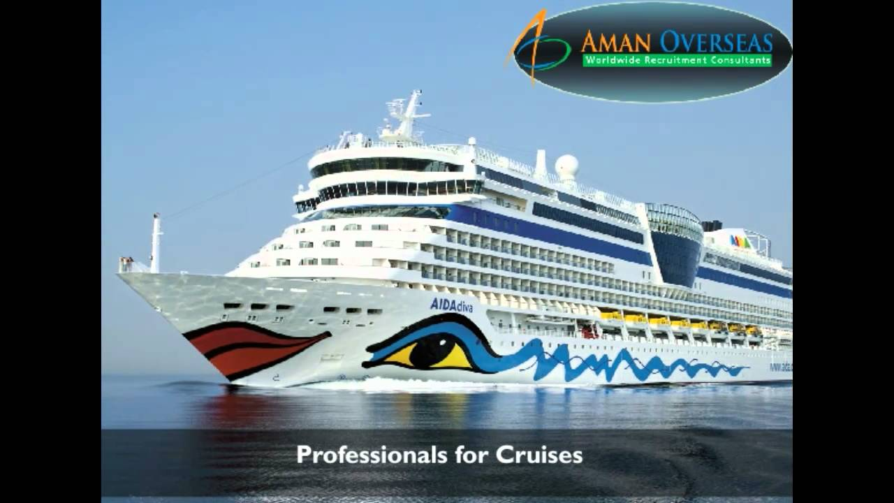 Shipping Recruitment Agency AmanOverseascom YouTube - Cruise ship recruitment agency