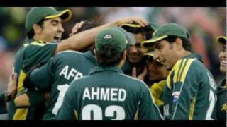 Pakistan cricket team champion heroes world cup 2011 t20 &  now  with pothwari wood ,sher .