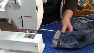 Jak zkrátit Jeans