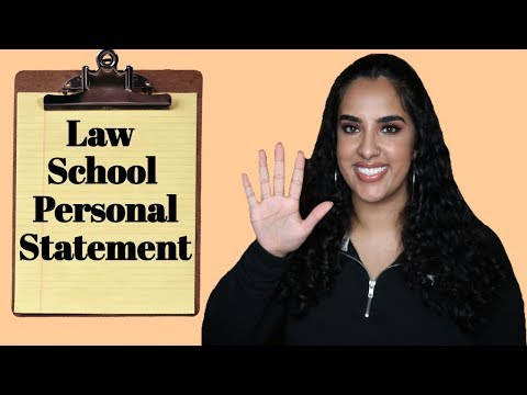 5 TIPS FOR LAW SCHOOL PERSONAL STATEMENT
