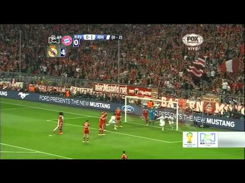 Bayern Munich vs Real Madrid (0-4) UEFA Champions League 29/04/14 FULL HD