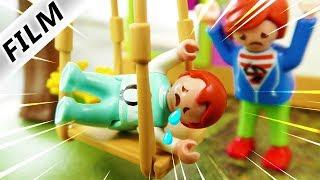 Playmobil Film Deutsch EMMAS SCHAUKEL-UNFALL IM GARTEN! IST IHR BEIN GEBROCHEN? Familie Vogel