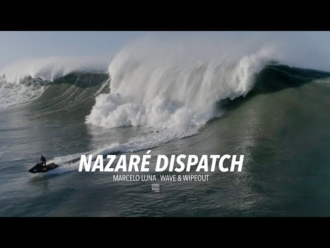Nazaré Dispatch . Marcelo Luna . Wave & Wipeout  [Drone] [Big Wave] [Nazaré]