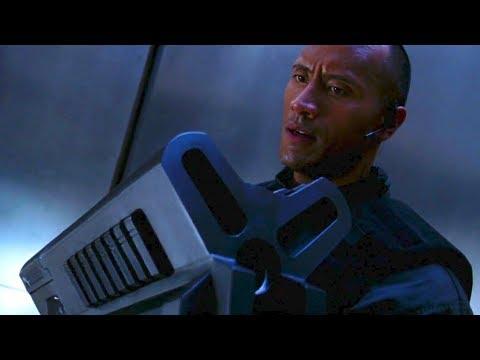 The Rock gets BFG 9000 - DOOM 2005 Movie scene
