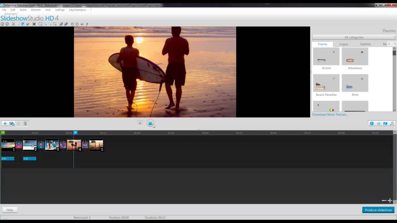 How to turn your images into a cool slideshow