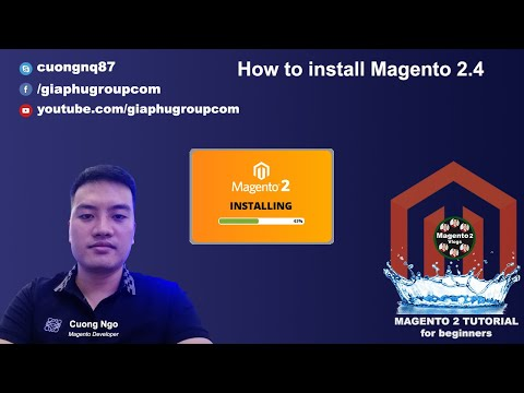 How to install Magento 2.4