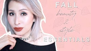 Fall Essentials Beauty & Style Faves | Autumn Winter Favorites | Current Faves | FoodishBeauty