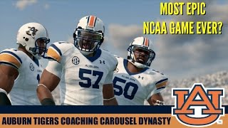 NCAA Football 14: Coaching Carousel (EPIC GAME!) Auburn Tigers vs Notre Dame (Coach Troll Man) - EP3