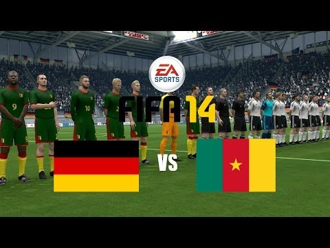 Let's Play - FIFA 14 - Deutschland - Kamerun (für Ghana) - #01 [Together][HD]