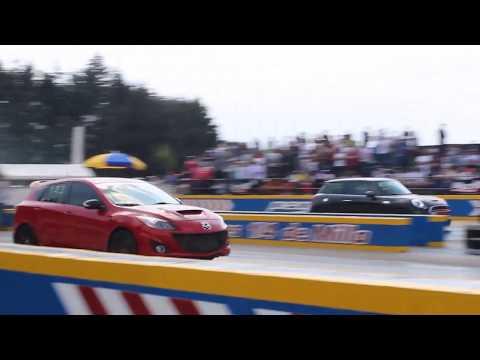 MazdaSpeed 3 vs Mini Cooper S 2DO Jale | Arrancones Pegaso Febrero 2018