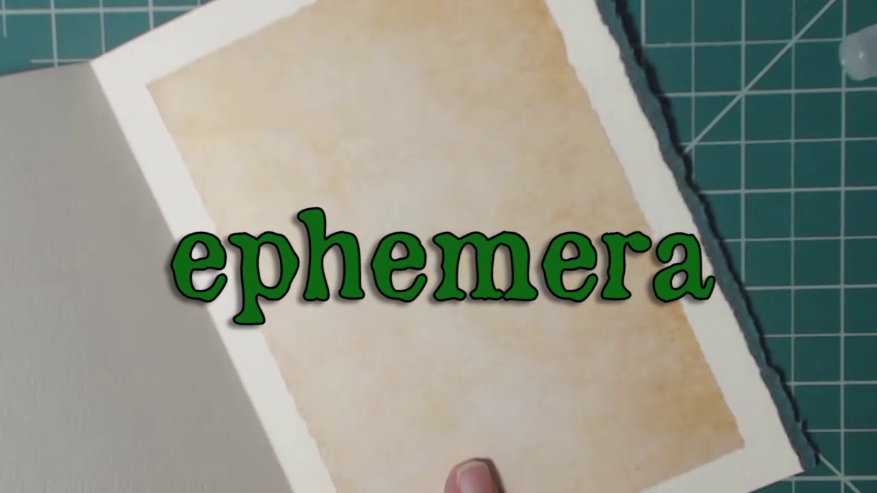 Ephemera Product Introduction Video