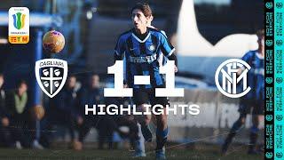 CAGLIARI 1-1 INTER | PRIMAVERA HIGHLIGHTS | 2019/20 Primavera 1 TIM Matchday 15 ⚫🔵