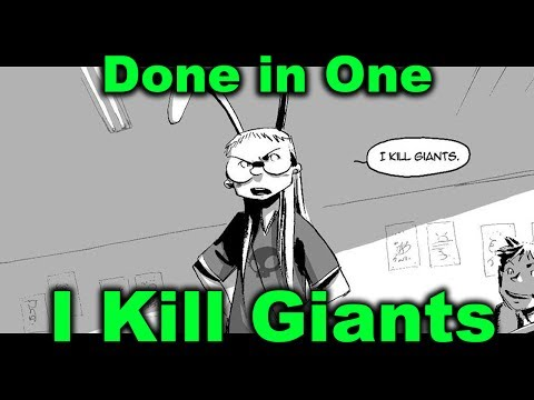 I Kill Giants - Coming Of Age Tearjerker - Done in One Graphic Novel