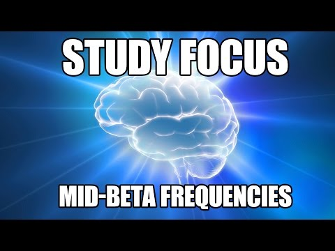 Study Focus - Beta Waves for Rapid Workflow & Enhanced Concentration  - Brainwave Entrainment