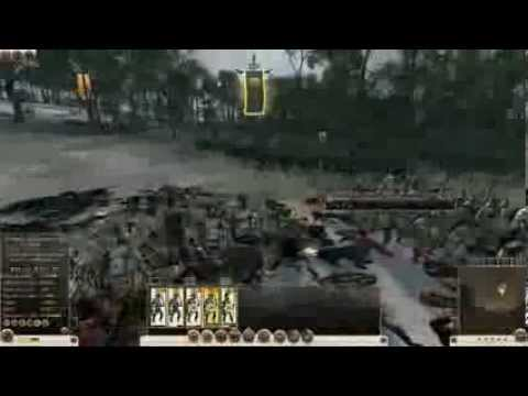 Rome II total war blood and gore dlc test - multiplayer 1  