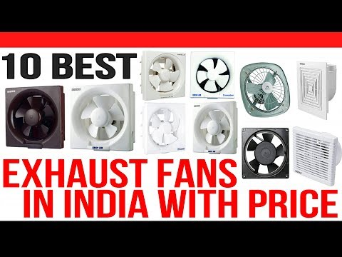 Top 10 Best Exhaust Fans In India With Price Youtube