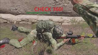Why 360 is important! Arma 3 Medical Clips