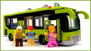 Enlighten Brick 1121 City buses - Speed Build