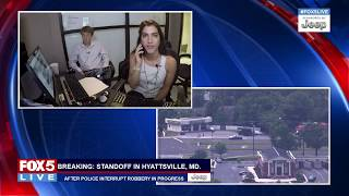 FOX 5 LIVE (6/19): Standoff in Hyattsville, Md ends; Alexandria Police update on shooting