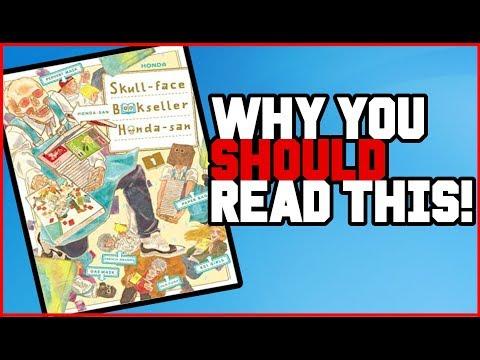 Is Skull-Face Bookseller Honda-San Worth Reading? (Manga Review)