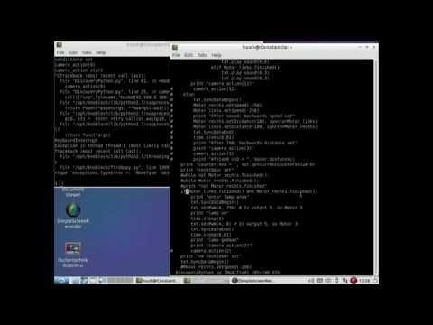 fischertechnik TXT controller : Discovery - using Python2 7 #40 - sonar & objects