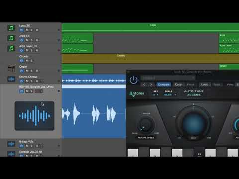 Simple and Accurate Real Time Pitch Correction With Auto Tune Access From Antares