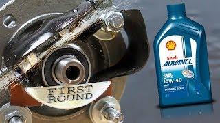 Shell Advance 4T AX7 10W40 Jak skutecznie olej chroni silnik?