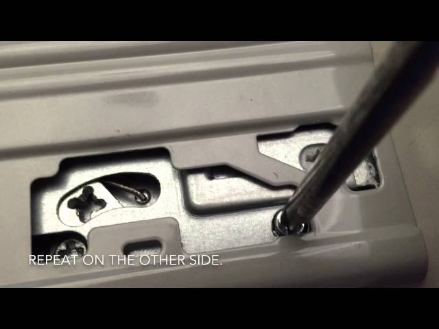 how to remove kitchen drawer front 2