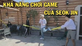 [BTS JIN] Khả năng chơi game của Seok Jin ???