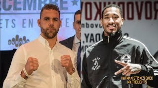BILLY JOE SAUNDERS VS DEMETRIUS ANDRADE - ORDERED BY WBO!!! SEPTEMBER 2018!!!