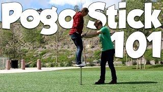 How to Jump on a Pogo Stick   Vurtego Pogo Beginner Tutorial